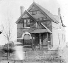 ? - Residence, Co. Park & Jefferson :: Western History, 1893, 1890 - 1900