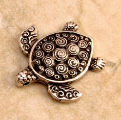 Hey, I found this really awesome Etsy listing at https://www.etsy.com/listing/107382468/mykonos-casting-turtle-pendant-antique