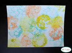 painting with bubbles sounds fun