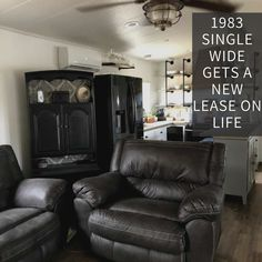 What a makeover! Mobile Home Living, Home And Living, Heated Bathroom Floor, Mobile Home Makeovers, Single Wide, Make A Plan, Ship Lap Walls, Master Closet, Floor Space