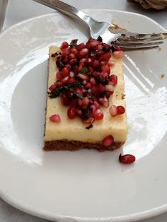Pomegranate Lemon Bar, photo by DC Food & Drinks: Tender Greens (Santa Monica)