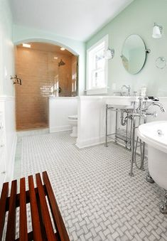 Bathroom 1920 Design Ideas, Pictures, Remodel and Decor