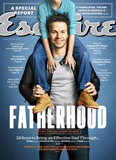 Mark Wahlberg covers the fatherhood issue of Esquire.