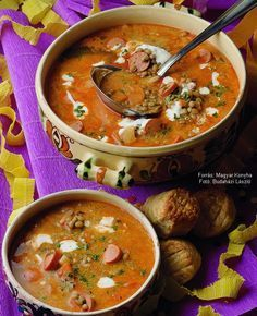 Hungarian Recipes, Hungarian Food, Jacque Pepin, Hot Soup, Cooking Together, Chowder, Food Porn, Curry, Good Food