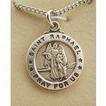 St. Raphael Patron Saint Medal [Silver]