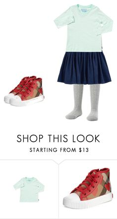 """kids"" by kitty-cat11 ❤ liked on Polyvore featuring Burberry"