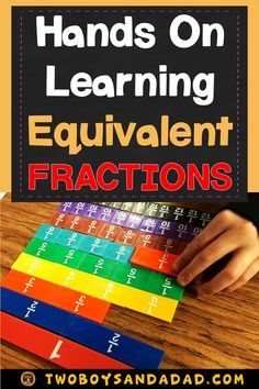Teaching about equivalent fractions involves using math tools like bar models, fraction strips and number lines. But it can also include digital resources! Teaching Fractions, Teaching Math, Dividing Fractions, Multiplying Fractions, Multiplication, Maths, Math Strategies, Teaching Resources, Math Division