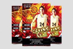 street-basketball-flyer-template