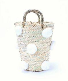 《予約》fatima morocco ポンポンバスケット◆(かごバッグ)|EDIT. FOR LULU(エディットフォールル)のファッション通販 - ZOZOTOWN