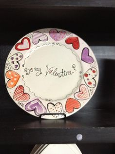 Valentine Ideas Cute Plate