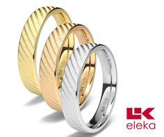 Nuestro manojo de rosas. Los 3 colores de modelo ROSES @alianzas_eleka #bodas #alianzas #novia   cnavarro.com