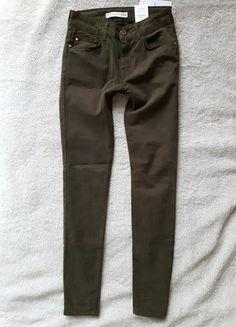 Kup mój przedmiot na #vintedpl http://www.vinted.pl/damska-odziez/rurki/12583795-super-skinny-mango-khaki-velvet  #khaki #must_have #mango_jeans