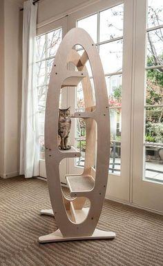 Next Post Previous Post Contoure Modern Cat Tree Contoure moderner Kratzbaum Wood Projects, Woodworking Projects, Teds Woodworking, Diy Cat Tree, Cool Cat Trees, Pet Furniture, Barbie Furniture, Garden Furniture, Modern Cat Furniture