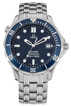 "Omega Seamaster 300M ""James Bond"" Blue Wave Watch 2531.80.00"