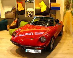 Libra Sofa Bean bags and alfa romeo spider 1976