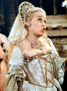 Barbara Windsor as Bettina in Carry On Henry. 70s Actors, Comedy Actors, Actors & Actresses, Comedy Movies, Barbara Windsor, Old Film Stars, Movie Stars, Golden Age Of Hollywood, Hollywood Stars