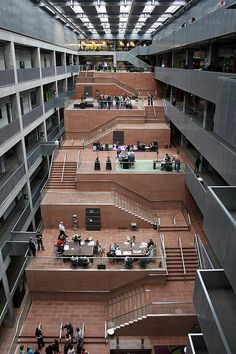 BBC Scotland, an indoor public space  | david chipperfield architects