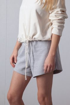 Stylish and comfy college shorts by Shy Vibes Club. Made from recycled pre-consumer waste. Shy Vibes Club is a brand for all shy persons. Made in Finland. Shipping world wide. Recycled Materials, High Waisted Shorts, Scandinavian Design, Sustainable Fashion, Recycling, Short Dresses, Pants For Women, Mini Skirts, Comfy
