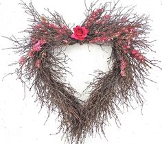 Wreaths For Door - Wild Heart Wreath, $48.99 (http://www.wreathsfordoor.com/wild-heart-wreath/)