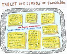 Tablet dos sonhos blogueiro Por Álvaro Nassaralla /2014