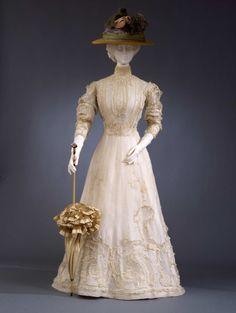 Day dress ca. 1903-05From the Galleria del Costume di Palazzo...