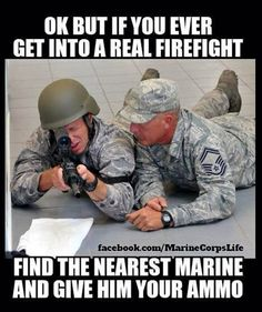 Marine Corps. Hahaha Dakota would love this                                                                                                                                                                                 More