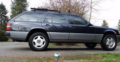 Lifted 1991 Mercedes 300TE 4matic Wagon Found For Sale On Craigslist #Craigslist #Mercedes