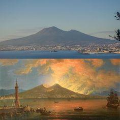 The bay of Naples Pietro Antoniani 1774  my photo 2012