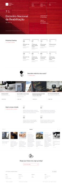 Dribbble - homepage-iced-inesctec.png by Mariana Gomes