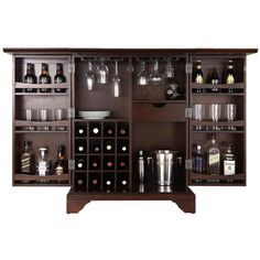 Keep your game day drinks stocked, organized, and ready for your guests with this sleek beverage storage essential.Product: Bar cabine...