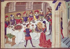 The medieval monks are back and hard at work inventing dinner parties.