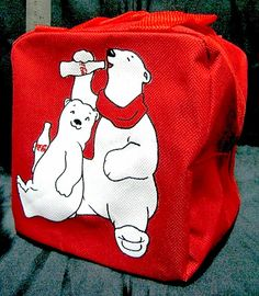 Coca-Cola Polar Bear Bag