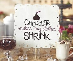 It's a chocolate sort of day! Enjoy an easy one stop project or gift with an Uppercase Living punched metal tile and cute chocolatey vinyl expression! Chocolate Humor, Chocolate Quotes, Love Chocolate, How To Make Chocolate, Chocolate Heaven, Valentine Chocolate, Vinyl Decor, Cool Posters, Cute Designs