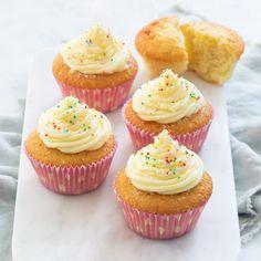 Basis cupcakes Home Baking, Pasta, Air Fryer Recipes, Mini Cupcakes, Trifle, Tapas, Pie, Sweets, Cookies