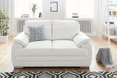 Aktuell kannst du bei uns im SALE bis zu 50% reduzierte Artikel shoppen - so wie diesen 2-Sitzer von exxpo by Gala in einem cleanen Weißton