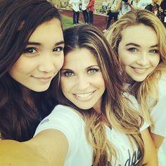 Rowan and Sabrina with Danielle