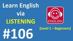 Learn English via Listening Level 1 | Lesson 106 - Favorite Colours
