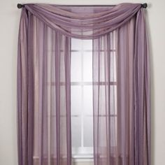 Sheer purple curtains to make canopy over bed Purple Curtains, Colorful Curtains, Sheer Curtains, Swag Curtains, Curtains Living, Living Room Windows, Canopy Over Bed, Scarf Valance, Master Room