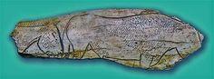 Incisione di cavalli su osso. Grotta El Pendo, Carmargo, tra Santander und Torrelavega, Cantabria. 18.000 - 12-000 anni fa. foto - José-Manuel-Benito-Álvarez CC-BY-SA 2.5  Incisione di cavalli su osso. Grotta El Pendo, Carmargo, tra Santander und Torrelavega, Cantabria. 18.000 – 12-000 anni fa. foto – José-Manuel-Benito-Álvarez CC-BY-SA 2.5 Art Pariétal, Paleolithic Art, Art History, Sculpture Art, Opera, Insects, Horses, Figurative, Museum