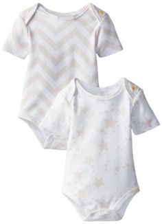 Amazon.com: Rosie Pope Unisex-Baby Bodysuit Gift Set, You're A Star/Barely Chevron, New Born: Clothing