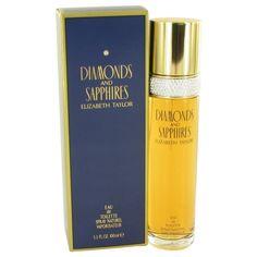 Diamonds & Saphires By Elizabeth Taylor Eau De Toilette Spray 3.4 Oz