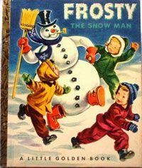 Original Frosty the Snowman 1950.