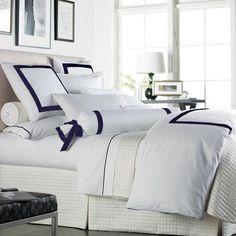 Great bedding SALE: Sophia Duvet Cover in Navy
