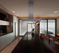 Studio Hazak I apartment, triplex, swwiming pool, wood, iron rail, outdoo