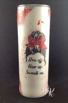 Available! 20 oz Messy Bun Life Tumbler! Get yours today!