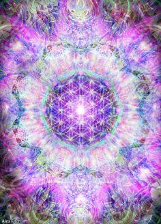 The Flower by Alex Fitchmentalalchemy.tumblr.com