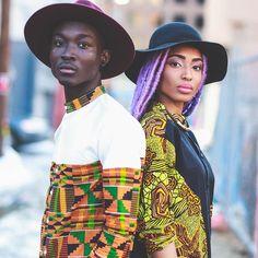 """@ElaineAfrika & @TeamYaga #ontheblog #blackfashion #fashion #beauty"""