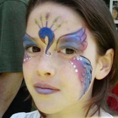 makeup for c. for halloween to go with her peacock costume?