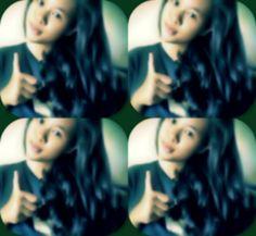 #goodgirl #four #smile #greensoft #goodhair #today