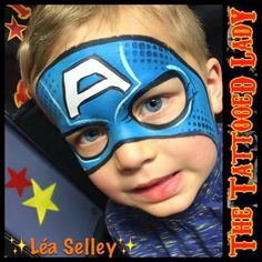 Captain America Boys Mask